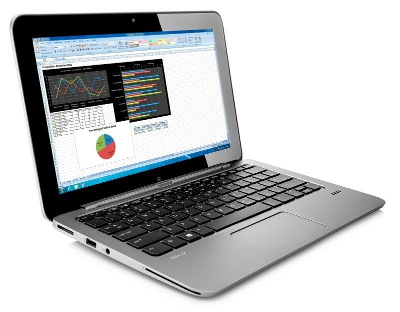 "Image of HP Elite x2 1011 G1 Tablet with Power Keyboard, Intel Core M-5Y51 1.1GHz, 8GB RAM, 256GB SSD, 11.6"" Touch, No ODD, Intel HD 5300, 2MP Front Camera, 5MP Rear Camera, Bluetooth, 3yr Mfr Warranty, Windows 8.1 Pro 64bit"