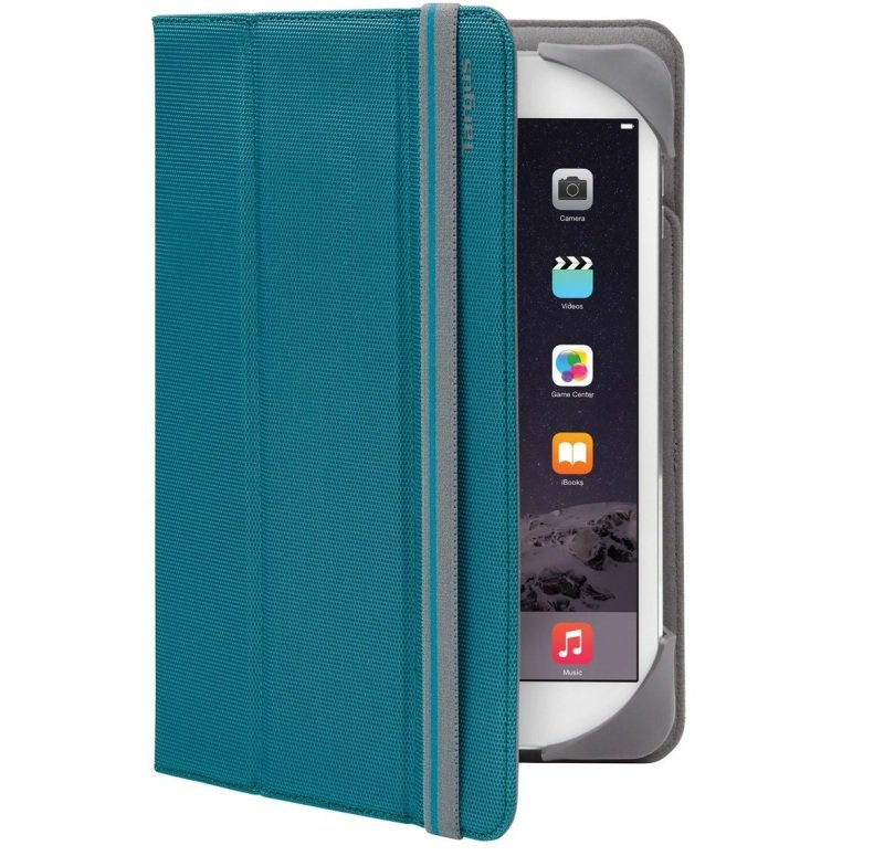 "Image of Targus Fit N Grip Universal Folio - For Tablets 7-8"" - Blue"
