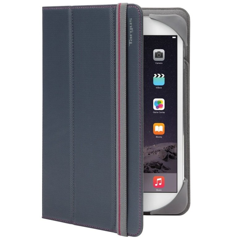 "Image of Targus Fit N Grip Universal Folio - For Tablets 7-8"" - Grey"