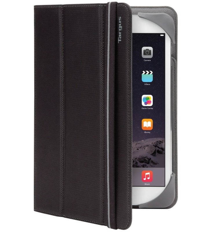 "Image of Targus Fit N Grip Universal Folio - For Tablets 7-8"" - Black"