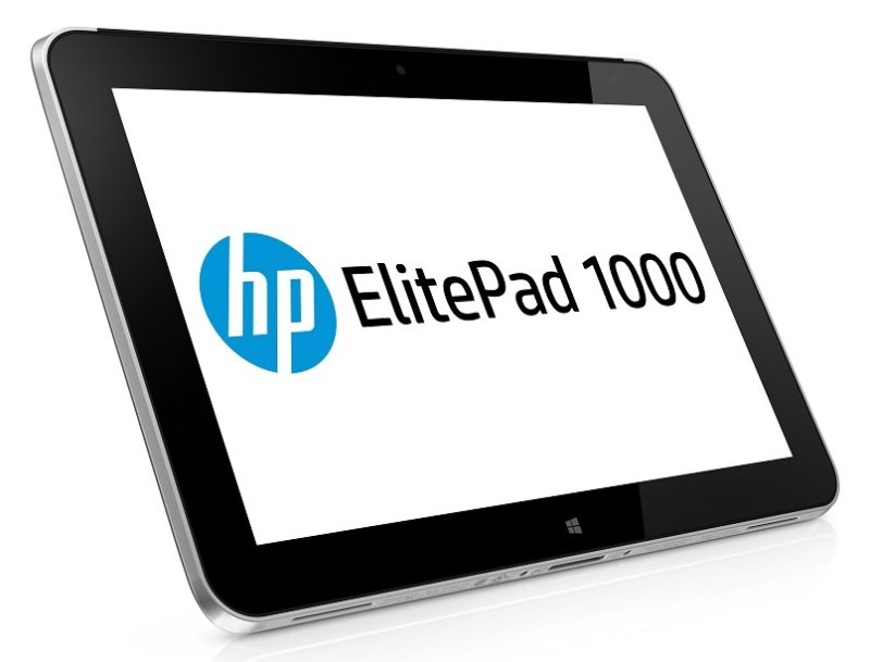"Image of HP ElitePad 1000 G2 Tablet, Intel Atom Z3795 1.6GHz, 4GB RAM, 64GB eMMC SSD, 10.1"" Multi-Touch, No ODD, Intel HD, Bluetooth, 2.1MP Front Camera, 8MP Rear Camera,1Yr Mfr Warranty, Windows 8.1 pro 64bit"