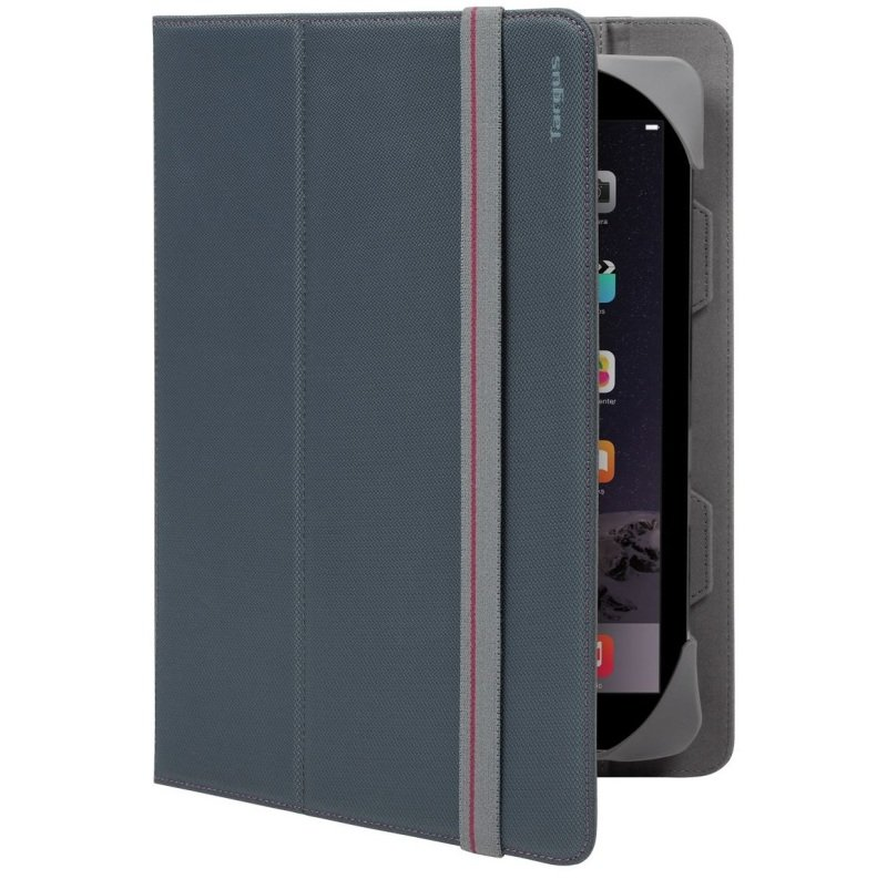 "Image of Targus Fit N' Grip Universal Case for 9-10"" Tablets - Grey"
