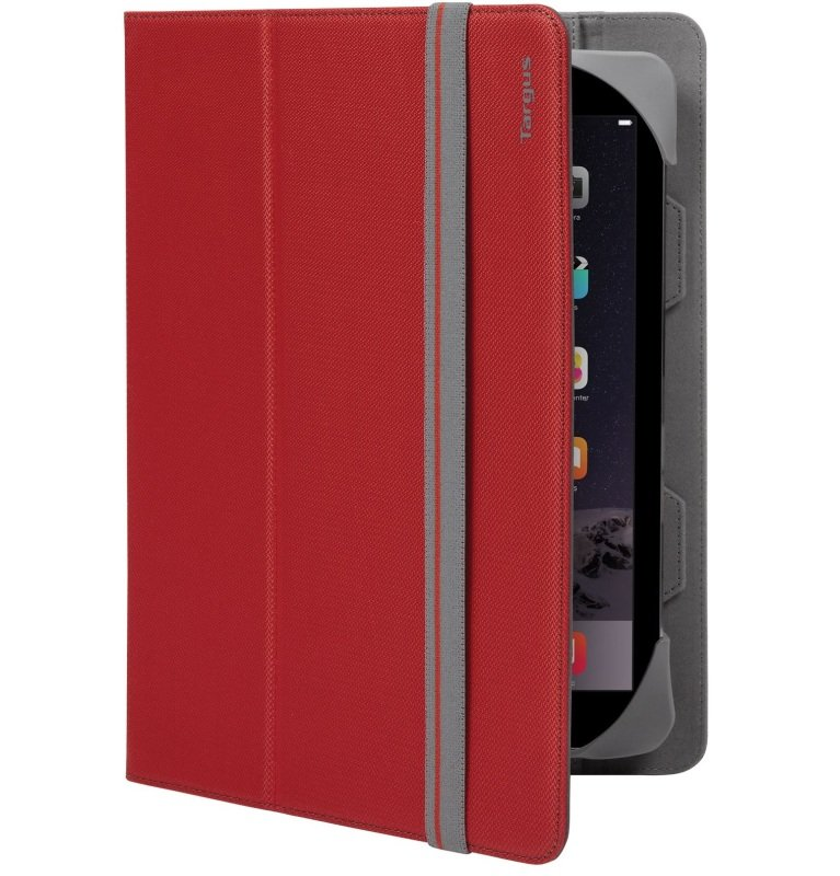 """Image of Targus Fit N' Grip Universal Case for 9-10"""" Tablets - Red"""