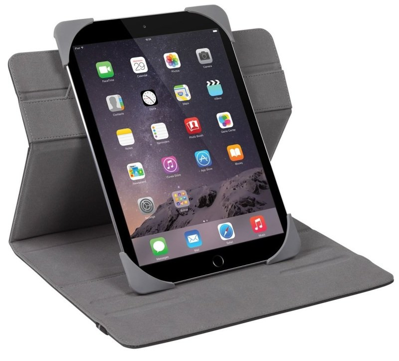 "Image of Targus Fit N' Grip Universal 360 Rotational Case for 9-10"" Tablets - Black"