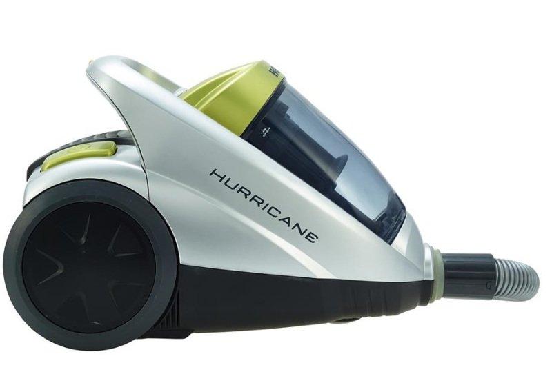 Hoover Hurricane Silver & Green Bagless Vacuum Cleaner
