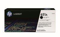 HP 651A Black Original LaserJet Toner Cartridge - CE340A