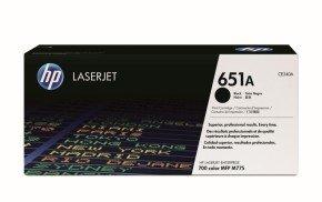 *HP 651A Black Original LaserJet Toner Cartridge - CE340A