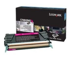 Lexmark C748 High Yield magenta Toner Cartridge