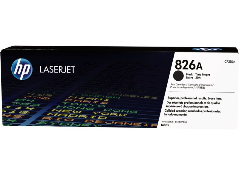 HP 826A Black LaserJet Toner Cartridge - CF310A
