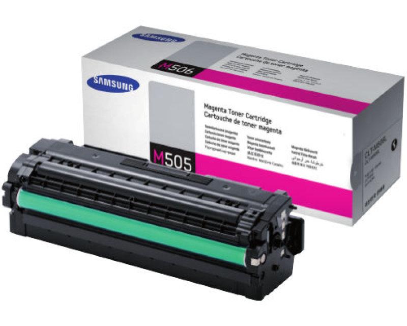 Samsung CLT-M505L Magenta Toner Cartridge - 3,500 Pages