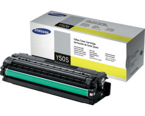 Samsung CLT-Y505L High Yield Yellow Toner Cartridge - 3,500 Pages