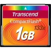 Transcend 133X (1GB) CompactFlash Card