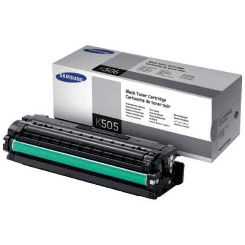 Samsung CLT-K505L High Yield Black Toner Cartridge - 6,000 Pages