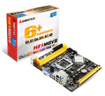 Biostar H81MGV3 Ver. 7.x Socket 1150 VGA 6-Channel HD Audio Micro ATX Motherboard