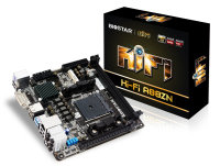 Biostar Hi-Fi A88ZN Ver. 5.x Socket FM2+ DVI HDMI 8-Channel Blu-ray Audio Mini ITX Motherboard