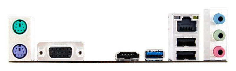 Biostar J1800MH2 Ver. 6.x Intel Celeron J1800 VGA HDMI 6-Channel HD Audio Micro ATX Motherboard