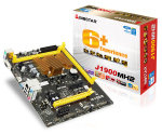 Biostar J1900MH2 Ver. 6.x Intel Celeron J1900 VGA HDMI 6-Channel HD Audio Micro ATX Motherboard