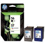 *HP 56/57 Combo Pack Ink Cartridge - SA342AE