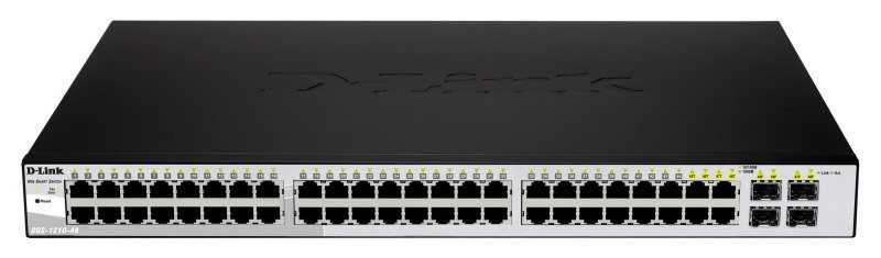 D-Link DGS-1210-48 - 48-Port Layer 2 Smart Gigabit Switch with 4x SFP