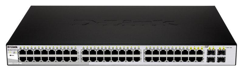 DLink DGS121048  48Port Layer 2 Smart Gigabit Switch with 4x SFP