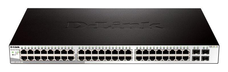 D-Link DGS-1210-52 48-port Gigabit Smart Switch