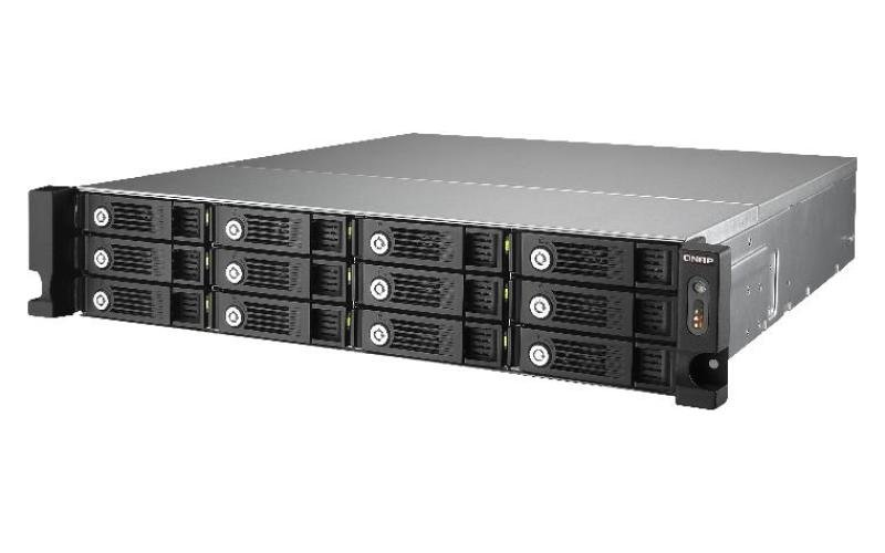 QNAP TS-1253U 24TB (12 x 2TB WD Red Pro) 12 Bay 2U Rackmount NAS