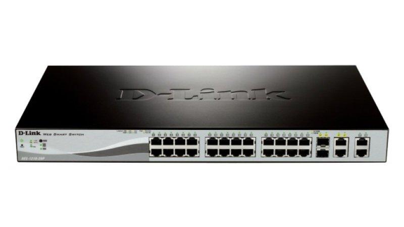 D-Link DES-1210-28P 24-port Managed Switch