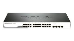 D-Link DGS-1210-24 - 24-port Gigabit Smart Switch
