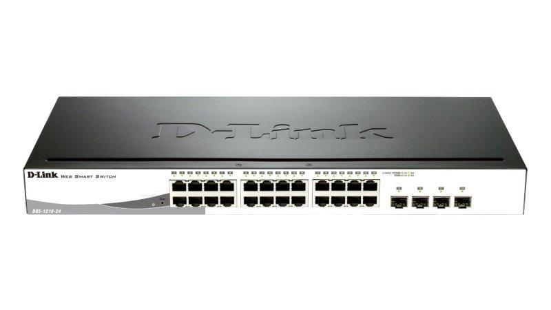 DLink DGS121024  24port Gigabit Smart Switch