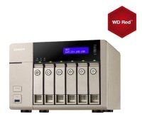 QNAP TVS-663 36TB (6 x 6TB WD Red) 4GB RAM 6 Bay Desktop NAS