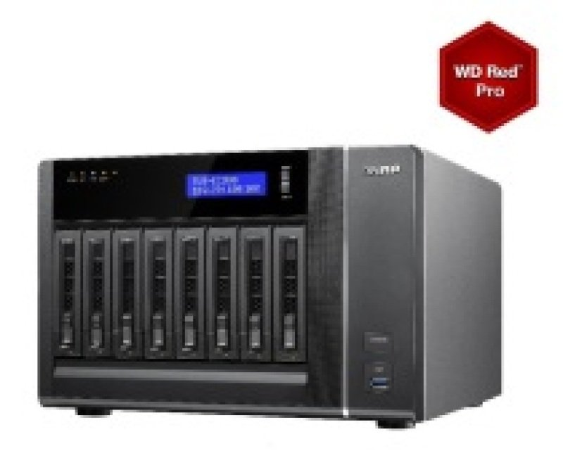 Image of QNAP TVS-EC880-E3 24TB 16GB RAM 8 Bay NAS