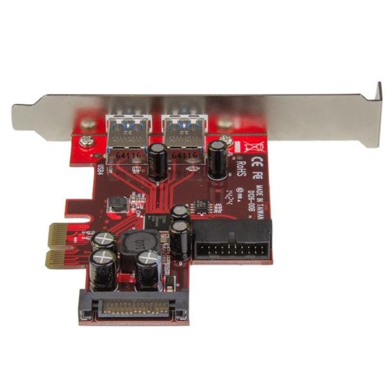 4-port Pci Express Usb 3.0 Card - 2 External  2 Internal - Sata Power
