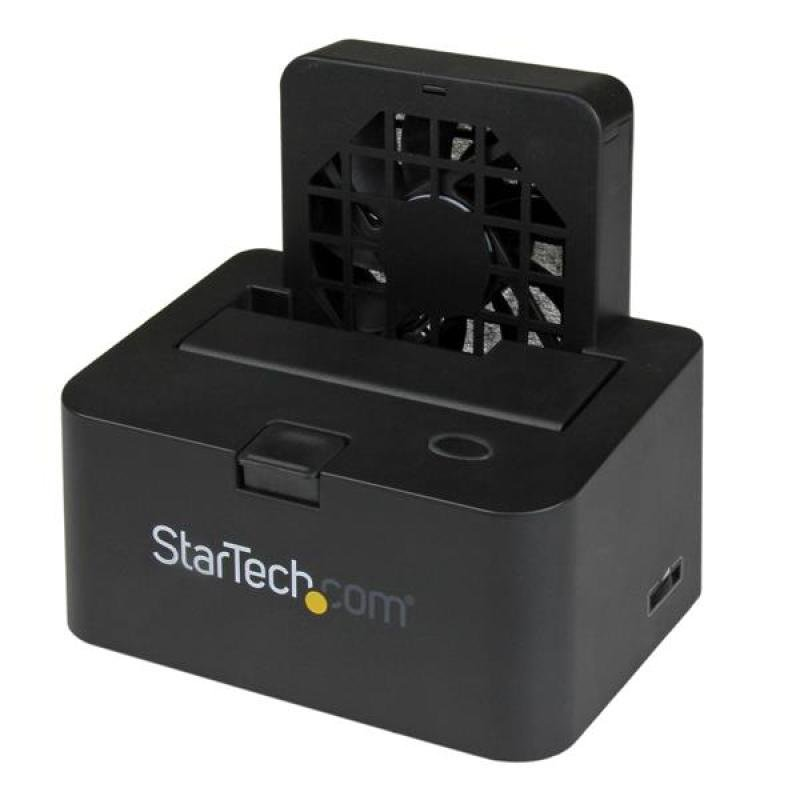 Image of External Docking Station For 2.5in Or 3.5in Sata Iii 6gbps Hard Drives Esata Or Usb 3.0 With Uasp