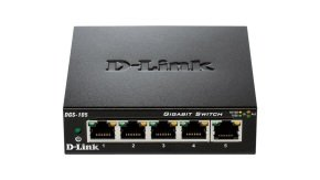 D-link DGS-105 - 5-port 10/100/1000 Gigabit Switch