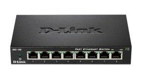 D-Link DES-108 - 8-port 10/100 Metal Switch