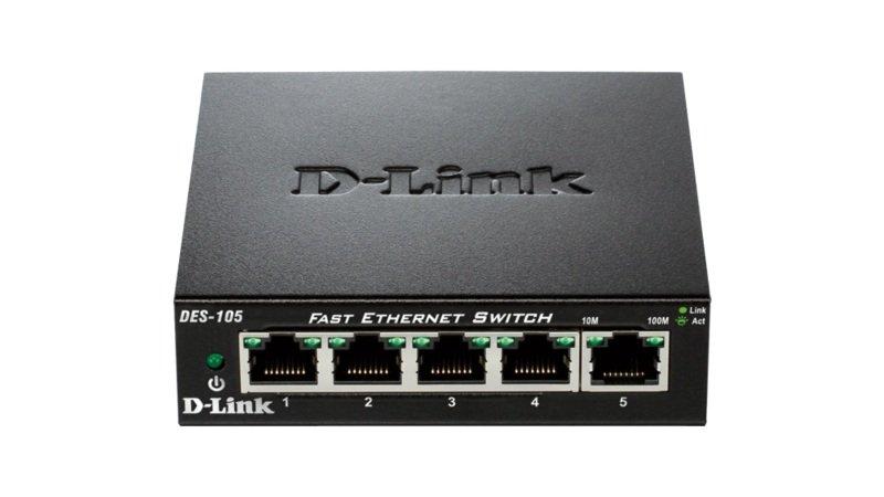 D-Link DES 105 5-port Switch