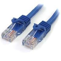 Startech.com 1M Cat5e Blue Snagless RJ45 UTP Cat5E Patch Cable - 1M Patch Cord