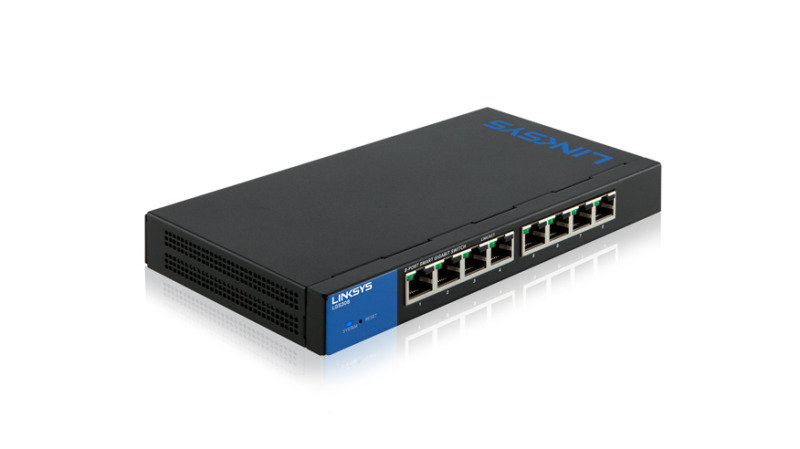 Linksys LGS308 - Gigabit Smart Switches 8-port