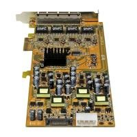 StarTech 4port GBE PCI Express Network - Card W/ PoE