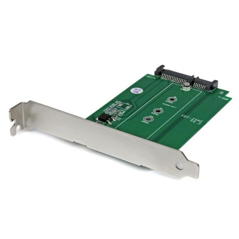 StarTech M.2 To Sata SSD Adapter   Expansion Slot Mounted
