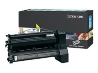 LEXMARK C78X 10K YELLOW HIGH YIELD RETURN PROGRAM PRINT CARTRIDGE
