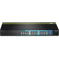 Trendnet TPE-2840WS -  28-Port Gigabit Web Smart PoE+ Switch