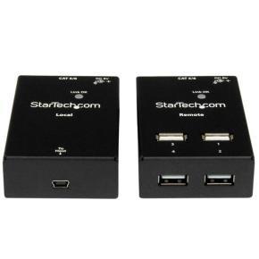 Startech.com 4-port USB 2.0-over-Cat5-or-Cat6 Extender - Up To 165ft (50m)