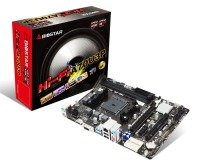Biostar Hi-Fi A70U3P Ver. 6.0/6.1 Socket FM2+ VGA HDMI 6-Channel HD Audio Micro ATX Motherboard