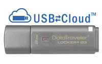 Kingston Technology DataTraveler Locker+ G3 Hardware Encrypted 8GB USB 3.0 Secure Flash Drive