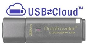 Kingston Technology DataTraveler Locker+ G3 Hardware Encrypted 32GB USB 3.0 Secure Flash Drive
