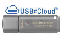 Kingston Technology DataTraveler Locker+ G3 Hardware Encrypted 64GB USB 3.0 Secure Flash Drive