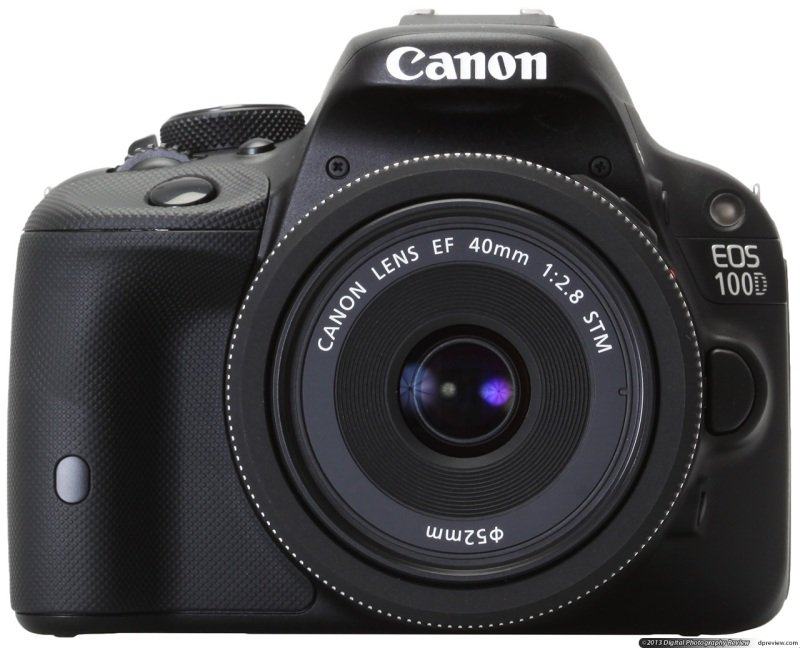 Canon EOS 100D  Efs 1855mm Is S  18 Mp Apsc Hybrid Cmos Af Ii In