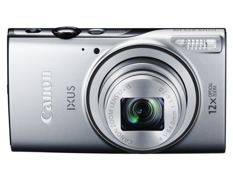 Canon Ixus 275 HS 35mm  12xzoom 20.2mp 3.0in Silver In