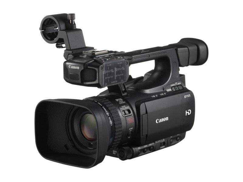 Canon XF105 Professional Camcorder Digic Dv Iii Processor 2.37 Megapixels 1.5x 3x 6x Digital Zom 3.5&quot